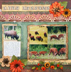 Life Lessons - Swirlydoos May kit, Grandma's Garden