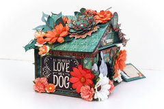 Doghouse gift box G45 Raining Cats and Dogs