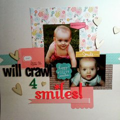 Will Crawl For Smiles
