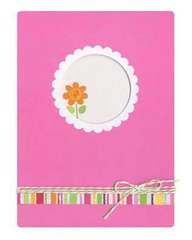 Flower Card from Doodlebug Design