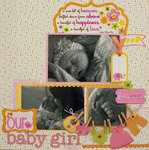 Our Baby Girl by Tiffany Hood