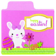 Happy Easter featuring Hello Spring from Doodlebug Design