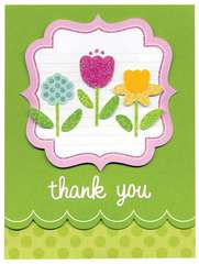 Thank You featuring Hello Spring from Doodlebug Design