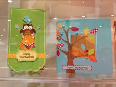Happy Harvest Cards from Doodlebug Design