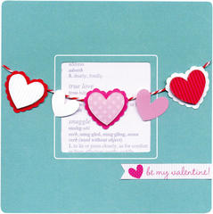 be my valentine by Doodlebug Design