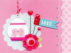 Love by Doodlebug Design featuring Lovebirds