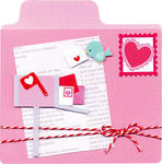 New Lovebirds Mailbox Card from Doodlebug Design