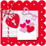 Lovebirds Envelope by Doodlebug Design