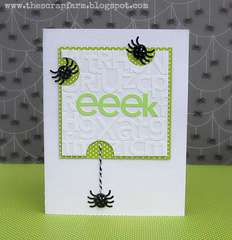 eeek by Melinda Spinks featuring the Haunted Manor Collection from Doodlebug