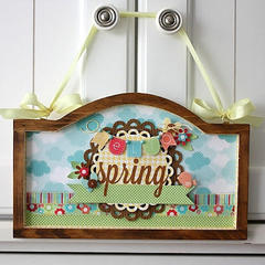 Spring Frame featuring Flower Box from Doodlebug