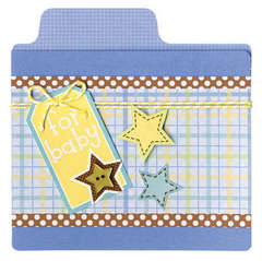 Doodlebug Snips & Snails File Folder Card