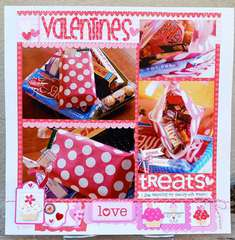 Valentines by Wendy Sue Anderson featuring Doodlebug Sweet Cakes Collection