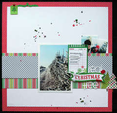 Real Christma Tree by Elizabeth Carney featuring North Pole from Doodlebug