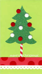 Simple Christmas Tree Card
