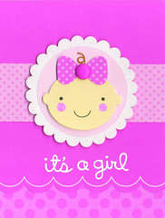 It's a Girl - featuring Doodle-pops Cardstock Stickers from Doodlebug