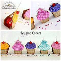 Kraft in Color Lollipop Covers by Candace Zentner