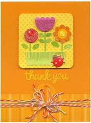 Thank You Featuring Doodles Expression Cardstock Stickers from Doodlebug