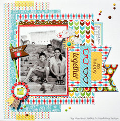 So Happy Together  featuring the new Day to Day Collection from Doodlebug Design