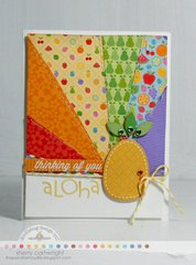 Aloha Card by Sherry Cartwright