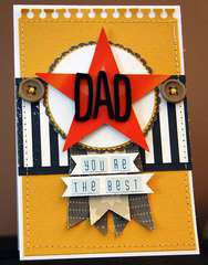 You're the Best Dad Card **American Crafts**