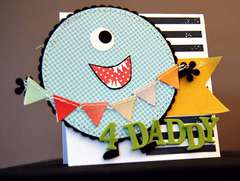 4 Daddy Card **American Crafts**