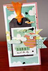 Soar! card **American Crafts**