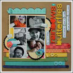 Rainbows and Butterflies **My Little Shoebox Mash Up**