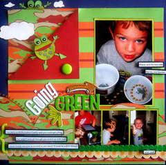 *GOING GREEN*