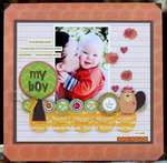 ***My Boy*** NIKKI SIVILS SCRAPBOOKER