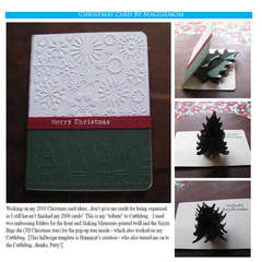 Pop-up Christmas Tree card