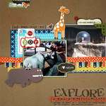 Explore The Houston Zoo (SRM Stikers)