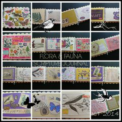 {Flora & Fauna Scripture Journal}