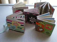 Mini Chipboard Albums