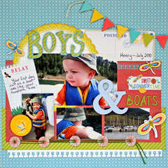 Boys & Boats *Little Yellow Bicycle*