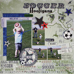 Soccer Hooligans *Little Yellow Bicycle*