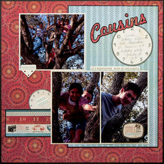 Cousins having fun! Left side