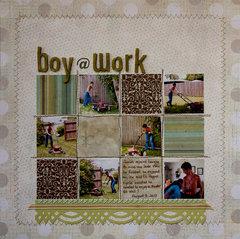 Boy @ Work