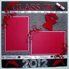 Class of 2012 layout