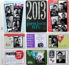 Project Life 2013 Intro Page
