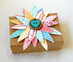 Flower Topped Gift Box