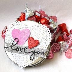 Valentine Treat Tin