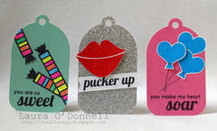 Pucker Up Tag Set