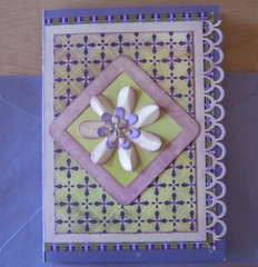 Paper & Ribbon Card