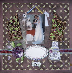 Star Wars Wedding Theme