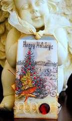 Happy Holidays Tag