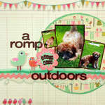 a romp outdoors **My Little Shoebox