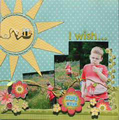 I Wish {My Little Shoebox & Summer 2011 Scrapbooking & Beyond}