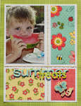 Summer Treats {My Little Shoebox & Summer 2011 Scrapbooking & Beyond}