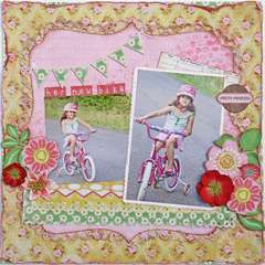 Her New Bike ~My Creative Scrapbook~
