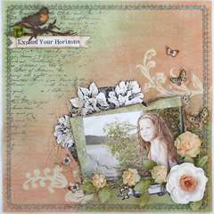 Expand Your Horizons ~My Creative Scrapbook~